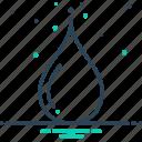 drop, liquid, oil, petrol, water icon