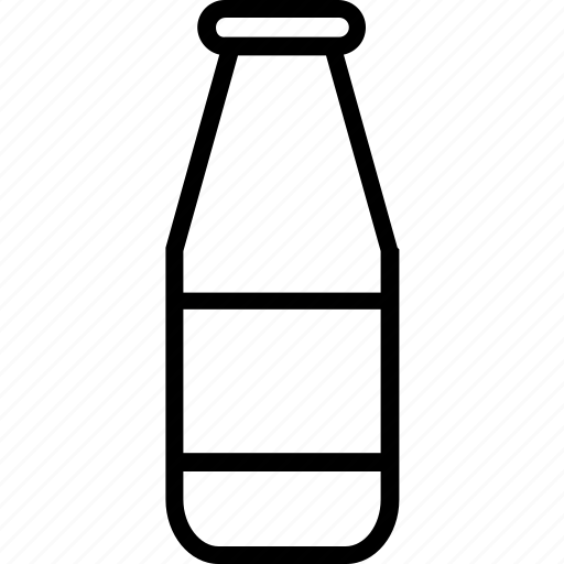 bottle, food, hot, line, sauce, spicy icon