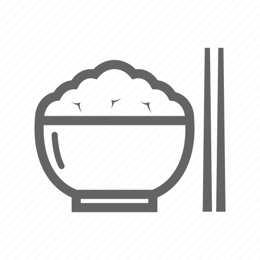 beverage, cook, food, meal, restaurant, rice icon