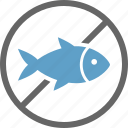 allergy, dietary, fish, food, free, label, seafood icon