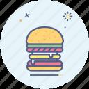 burger, fastfood, hunger, food