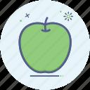 apple, fruit, greenapple, summer, food, healthy