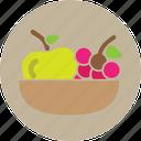 combo, fruits