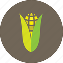 corn, farm, maize icon