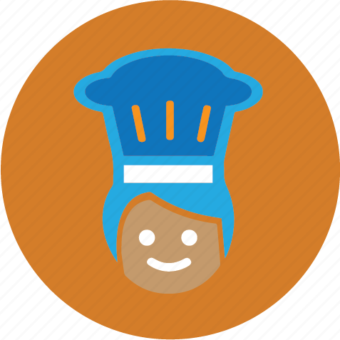 chef, cook, food icon