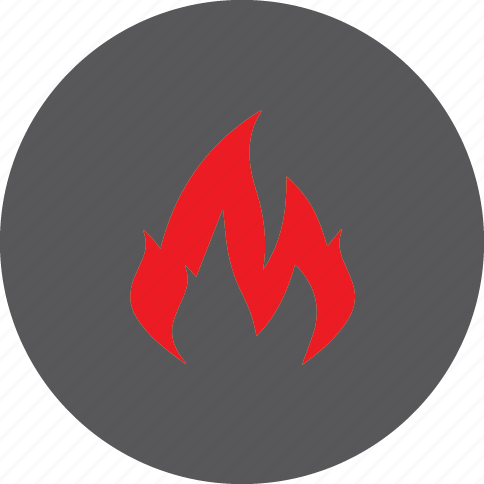fire, hot icon