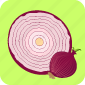 food, onion, pizza, restaurant, slice, vegetable icon