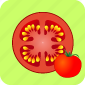 food, pizza, restaurant, sauce, slice, tomato, vegetable icon