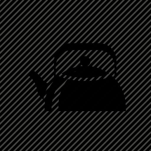 kettle, pot, tea kettle, teakettle, teapot icon