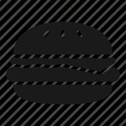 bun, burger, cheeseburger, fast food, food, hamburger, meat icon