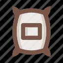bag, sack, package, coffee, potato, warehouse, gastronomy