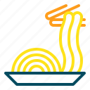 cooking, food, noodle icon