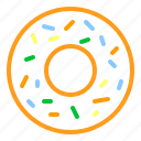 donut, donuts, food icon