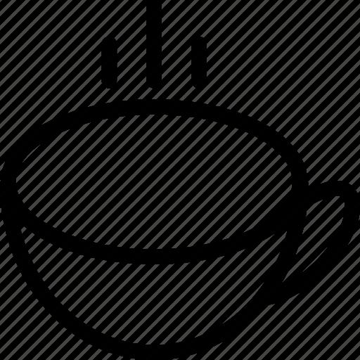 hot tea, soup, tea icon