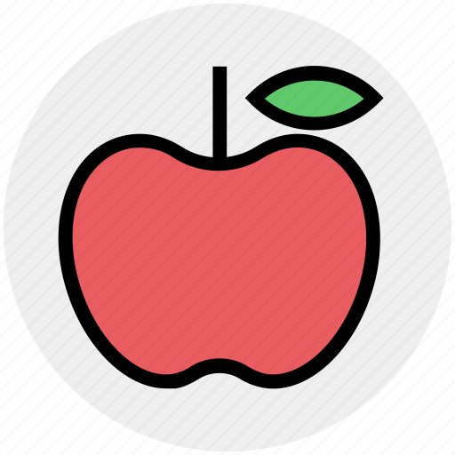 apple, eating, energy, fitness, food, fruit, meals icon