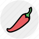 chili, chili pepper, food, pepper, red chili, seasoning, spicy icon