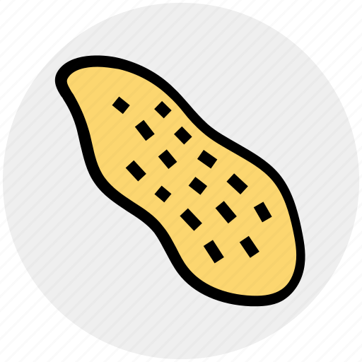 dry fruit, food, groundnuts, nut, nuts, peanuts, snack icon