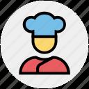 chef, chef hat, cooking, food, hat, kitchen, restaurant