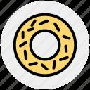eating, food, sweet, biscuit, donut, cookie, breakfast