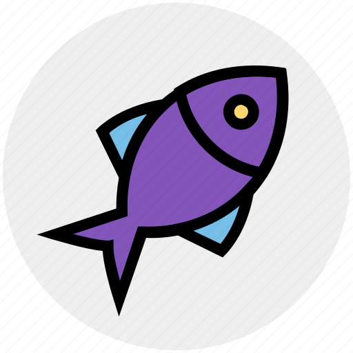 cooking, eating, fish, fishing, meal, salmon, seafood icon