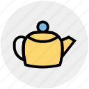coffee, drink, drinks, hot, kettle, tea icon
