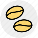beverage, cafe, cocoa, coffee, delicious, grain, seed icon