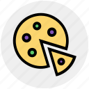fast food, food, italian, meal, pizza, slice icon