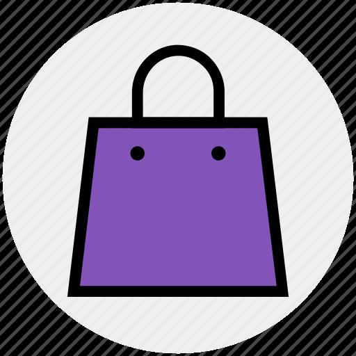 grocery, hand bag, purse, reusable bag, shopping, shopping bag, tote bag icon