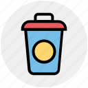 coffee, cup, discussible glass, drink, glass, juice, shake icon