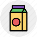 breakfast, can, cooking, kitchen, milk, milk pack icon