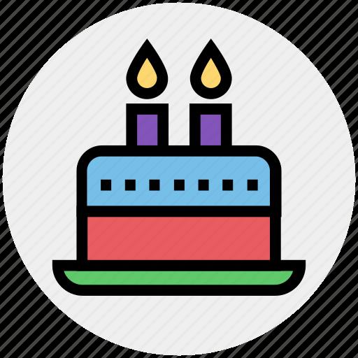 bakery, birthday cake, cake, celebration, food, muffin, wedding cake icon