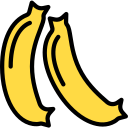banana, food icon icon