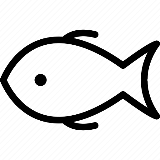 cooked, cooked fish, fish, food icon