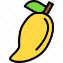 fruit, mango, mango icon icon