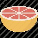 citrus, fruit, grapefruit icon