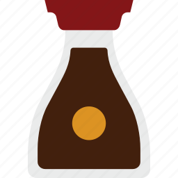 asian, condiment, soy sauce icon