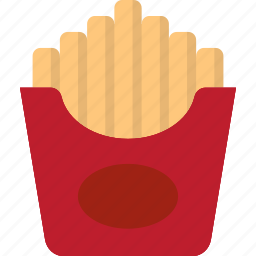 french, french fries, frenchfries, fries icon