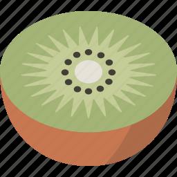 fruit, kiwi icon