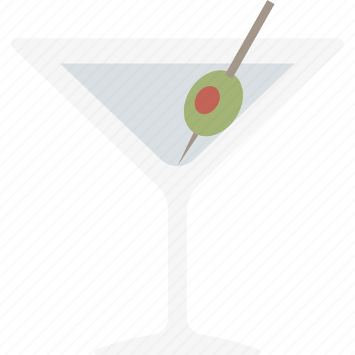 alcohol, drink, glass, martini icon