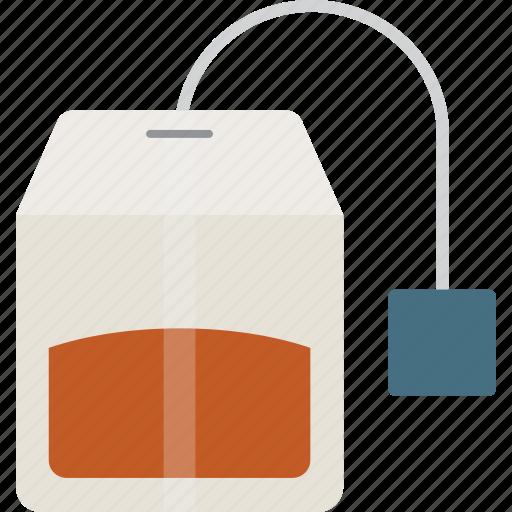 bag, tea, tea bag, teabag icon