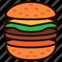 burger, dinner, drink, food, hamburger, lunch, meal