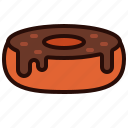dinner, doughnut, drink, food, lunch, meal icon
