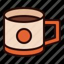 dinner, drink, food, lunch, meal, mug, tea icon