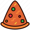 dinner, drink, food, lunch, meal, pizza icon
