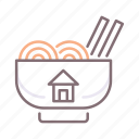 food, homemade, noodles, ramen icon