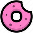 bread, breakfast, donuts, foods icon