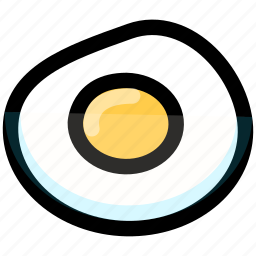 egg, food, foods icon
