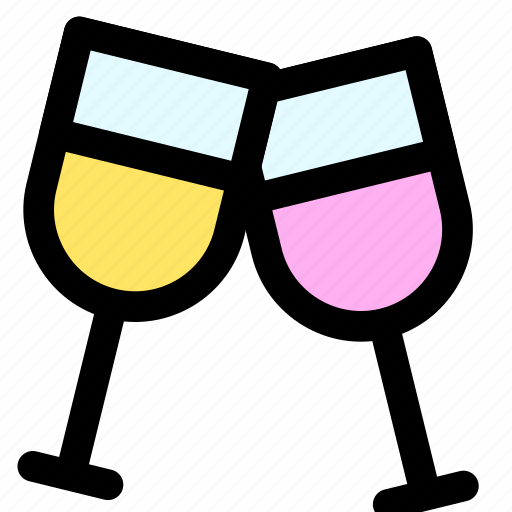 alcohol, bar, beer, bottle, cheers, wine icon