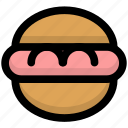 burger, cooking, fastfood, food, foods, gastronomy, hamburger icon