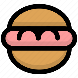 burger, cooking, fastfood, food, foods, gastronomy, hamburger icon